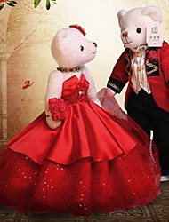 Wedding Teddy Bear(Red)