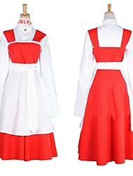Vocaloid Meiko Red and White Christmas Costume
