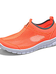 Women's Shoes Fabric Flat Heel Comfort Athletic Shoes Casual / Athletic Blue / Green / Red / Gray / Orange