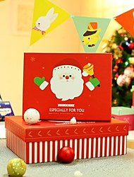 Father Christmas Pattern Gift Boxes