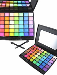 48 Color Matte&Shimmer Professional Eye Shadow Makeup Cosmetic Palette with Mirror&Applicator Set 3#