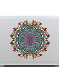 SKINAT Removable lovely colorful Powder and Thai flower tablet and laptop computer for macbook Air 11,260x270mm