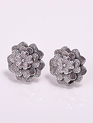 925 zilveren sieraden bloemen trapsgewijze oorbellen
