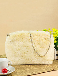 Solid Color Fur  Bag