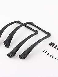 Tall Landing Gear for DJI Phantom 1 2 Vision Wide and High Ground Clearance