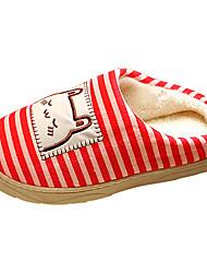 scarpe da donna punta rotonda ciabatte tacco piatto in pile scarpe più colori disponibili