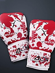 First Blood Leather Full Finger Wearable Boxing Gloves (Average Size)