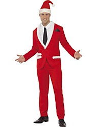 Handsome Santa Claus Business Suit Adult Men's Christmas Costume