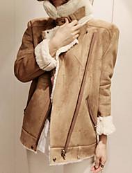Lilidream Women's Fashion Lamb Wool Coat