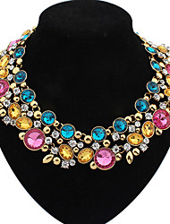 Colorful day  Women's European and American fashion necklace-0526041