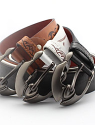Men Buckle/Waist Belt , Casual Alloy/Leather