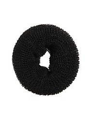 anillo negro dona el pelo grande bollo herramienta styler ex shaper