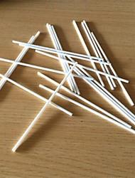Satz von 20 Lutscher Schokoladenformen, Kunststoff 10 x 0,3 x 0,3 cm (3,9 x 0,1 x 0,1 Zoll)