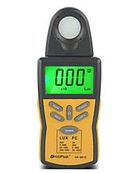 200kLux Digital Handheld Illuminometer Light Intensity Meter Illuminance Meter HoldPeak HP-881C