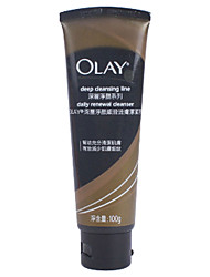 Olay Deep Cleansing Line Daily Renewek Cleanser