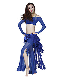 Belly Dance Dancewear Women's Exquisite Tulle&Chiffon Belly Dance Bottoms(More Colors)