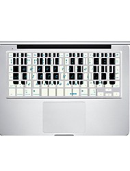 XSKN battu notes clavier couvercle de protection de la peau de film pour MacBook Air / MacBook Pro / MacBook Pro rétine