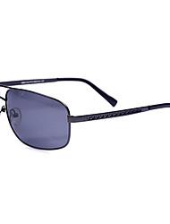 des lunettes de soleil rétro de résine de conduite d'aviateur polarisée