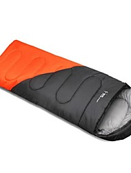 Sleeping Bag Rectangular Bag Single 5°C-15°C Cotton 210cmX75cm Hiking / Camping / Beach / Fishing / Traveling / Hunting / Indoor