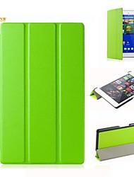 caso del soporte tímido oso ™ cubierta de cuero para Sony Tablet xperia z3 compacto de 8 pulgadas