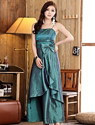Women's Sling Fold A Long Section Of Evening Dress