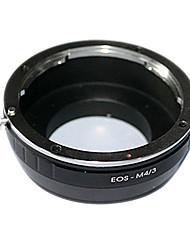 anello adattatore di alta precisione per Canon EF per GF1 / E-PL2 / GH2 / g3 / GF3 / e-p3 canon eos obiettivo EF M4 / 3 M43