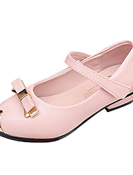Girls' Shoes Mary Jane Comfort Pointed Toe Low Heel Leatherette Flats Shoes More Colors available