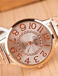 Women's Fashion Circular  Alloy  Quartz Watch