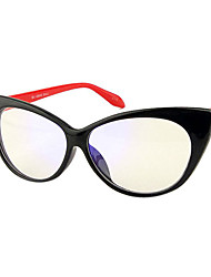 [lentilles] libres matériaux oeil de chat mélangé cerclées rétro ordonnance lunettes informatiques