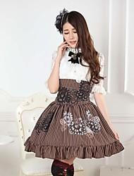 steampunk artes de la alquimia lolita princesa falda kawaii encantador cosplay