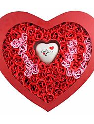 Valentine's Day I Love You Soap Rose