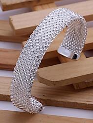 открыть бронза покрытая серебром браслет