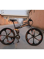 2015 New R100 21 Gears Shimano Mountain Bike Folding Bicycle for Man 26 in 17 in Cycling