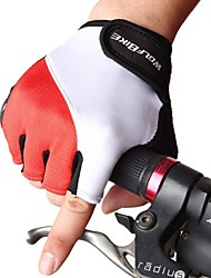 WOLFBIKE Non-slip Road MTB Motorcycle Breathable Half Finger Gloves