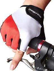 wolfbike antideslizantes moto mtb carretera guantes de medio dedo transpirable