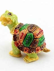caja de la baratija feliz tortuga