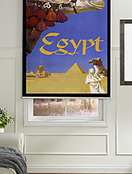 Camels In Egypt Roller Shade