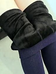 calças abdômen inverno algodão além de veludo cashmere leggings das mulheres