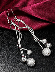 Uyuan Women's 925silver Silver Ornament Creative Personality Earrings