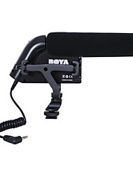 boya por-VM200 profesional micrófono de la cámara del condensador para mini cámara videocámaras Canon Nikon Sony dv