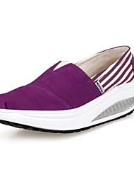 Women's Walking Shoes Fabric Blue / Yellow / Green / Purple / Red
