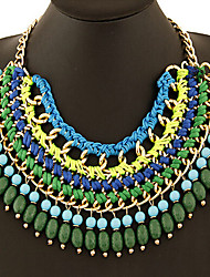Colorful day  Women's European and American fashion necklace-0526136