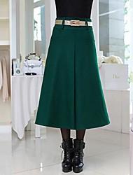 moda dulce faldas de tweed elegantes de las mujeres (más colores)
