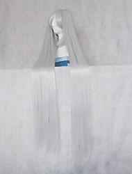 VOCALOID Hagane Miku Silver White Cosplay Wig