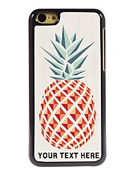 Personalized Phone Case - Pineapple Design Metal Case for iPhone 5C