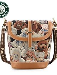 DAKA BEAR® Womens Crossbody Satchel Handbag New Fashion Womens Lady Tote Shoulder Bag Messenger