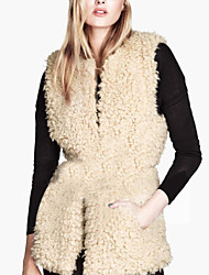 Warm Heart Women's Winter New Style All Match Fur Vest
