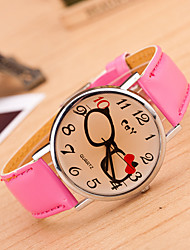 Wanbao Children's Lovely Glasses Watch