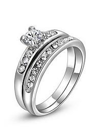 Women's Roxi Exquisite Platinum Plat Statement Rings(1 Pc)