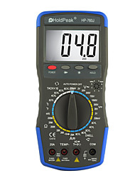 Manual Digital Multimeter for Automobile Maintenance HoldPeak HP-760J